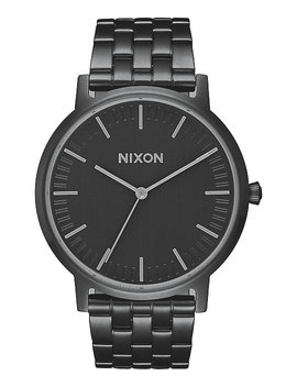 Nixon Porter 35 All Black & Gunmetal Watch by Nixon Watches