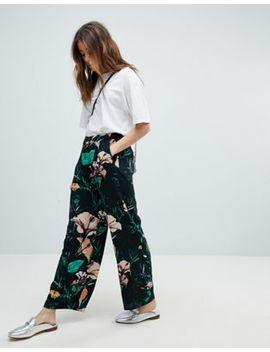 Only   Pantalon Large à Fleurs by Only