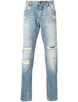 Distressed Jeans by Dolce & Gabbana