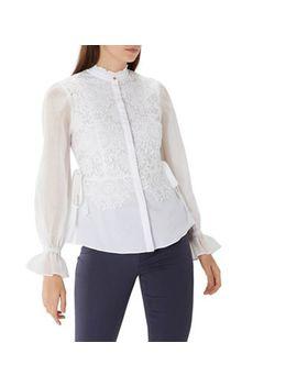 Coast   Syden Lace Stripe Shirt by Coast