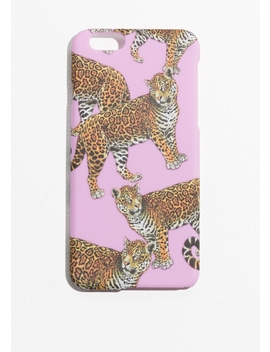 Tiger Print I Phone 6 Case by & Other Stories