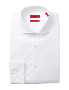 Sharp Fit  Broadcloth Dress Shirt by Boss Hugo Boss