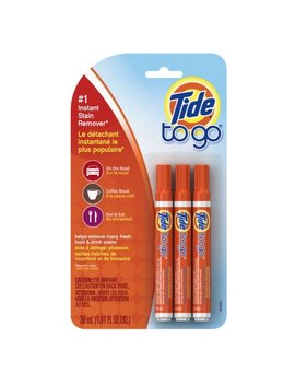 Tide To Go Stain Remover Pen, 3 Count by Tide