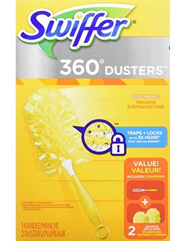 Swiffer 360 Dusters Heavy Duty Starter Kit, 2 Count (Packaging May Vary) by Swiffer