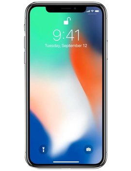 "Apple I Phone X, Fully Unlocked 5.8"", 64 Gb   Silver by Apple"