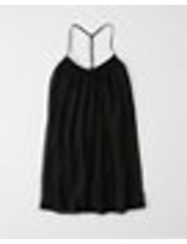 Lace Pieced Swing Dress by Abercrombie & Fitch
