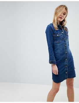 Jdy Denim Shirt Dress by Jdy