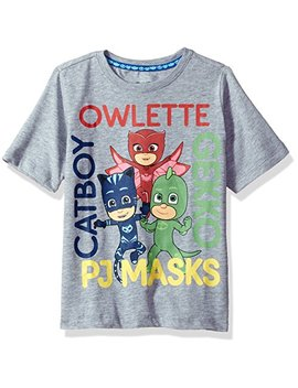 Pjmasks Boys' Pj Masks Short Sleeve Tee Shirt by Pjmasks