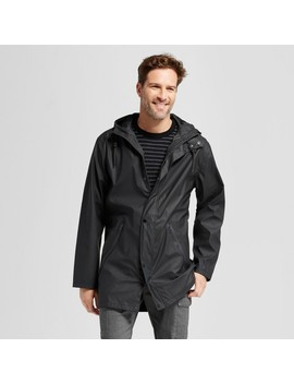 Men's Standard Fit Rain Jacket   Goodfellow & Co™ Black by Goodfellow & Co™