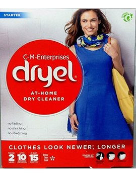 Dryel In Dryer Cleaning Starter Kit, Breezy Clean Scent, 1 Kit by Dryel