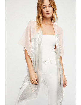Take Flight Stripe Kimono by Free People