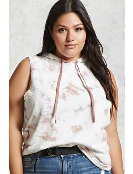 Plus Size Sleeveless Hoodie by Forever 21