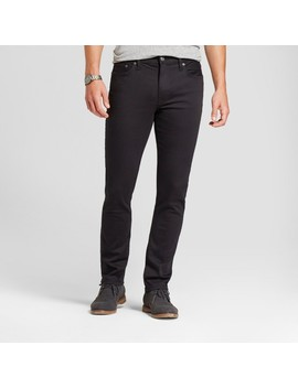 Men's Skinny Fit Jeans   Goodfellow & Co™ Black by Goodfellow & Co™