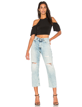 Off Shoulder Crop Top by Bcb Generation