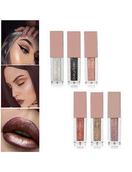 Hengfang Metal Liquid Eyeshadow Glitter Eye Shadow Liquid Shimmer Stick Beauty Tool Korea Cosmetic Gift For Girl by Fenty Online Store