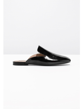 Patent Leather Slip Ons by & Other Stories