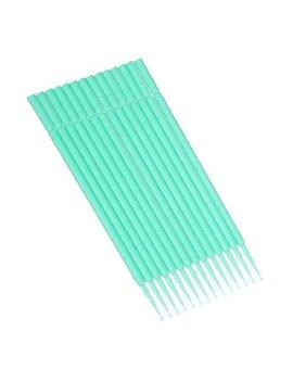 Easyinsmile Eyelash Extension Disposable Microbrush Swab Applicators, 100pcs/ Pack (Green) by Easyinsmile   Tools