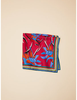 Harlow Square Scarf by Dvf