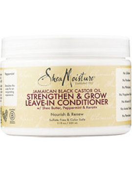 Jamaican Black Castor Oil Strengthen Grow & Restore Leave In Conditioner by Shea Moisture