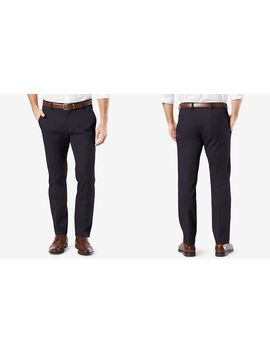 Easy Stretch Slim Tapered Khaki Pants by Dockers
