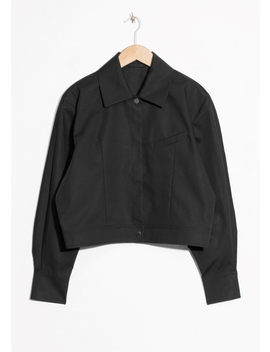 Cropped Jacket by & Other Stories