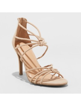 Women's Kylin Caged Heel Pumps   A New Day™ by A New Day™