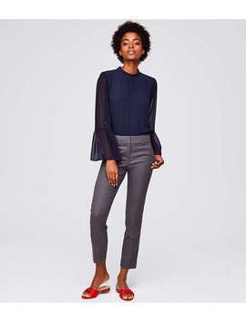 Petite Slim Dotted Pants In Marisa Fit by Loft