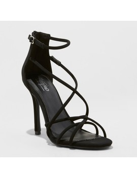 Women's Elma Strappy Sandal Pumps   Mossimo™ by Mossimo
