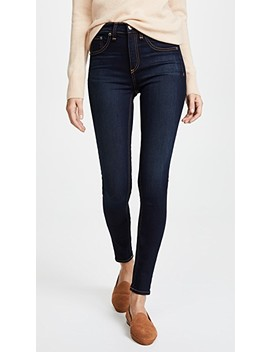 High Rise Skinny Jeans by Rag & Bone/Jean