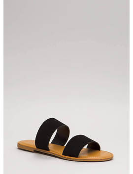 Easy Come Easy Go Faux Nubuck Sandals by Go Jane