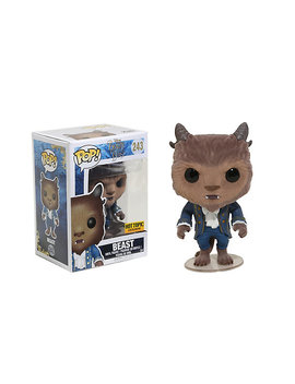 Funko Disney Beauty And The Beast Pop! Beast (Flocked) Vinyl Figure Hot Topic Exclusive by Hot Topic