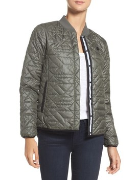 Quilted Down Bomber Jacket by Nike