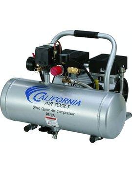 California Air Tools 2010 A Ultra Quiet And Oil Free 1.0 Hp 2.0 Gallon Aluminum Tank Air Compressor by California Air Tools