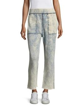 Scout Tie Dye Cut Off Sweatpants by Rag & Bone/Jean