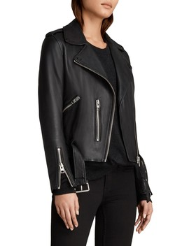 Balfern Leather Biker Jacket by Allsaints