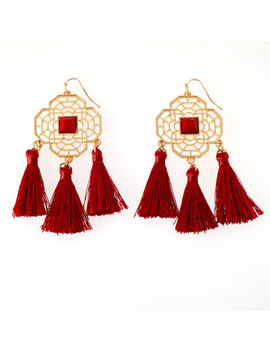 Bijoux Bar Drop Earrings by Bijoux Bar
