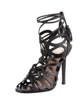 Priscilla Strappy Ankle Tie Sandal by Charles David