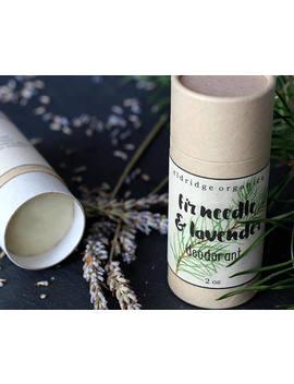 Fir Needle & Lavender Deodorant   Organic Deodorant   All Natural Deodorant by Etsy