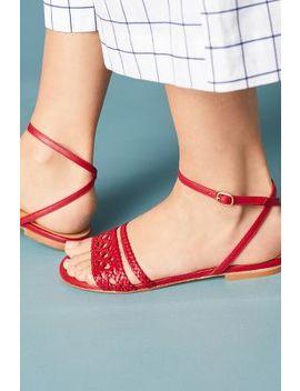 Naguisa Calis Woven Sandals by Naguisa