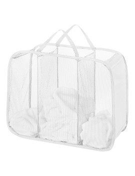Pop Up Foldable Laundry Sorter   White   Room Essentials™ by Room Essentials™