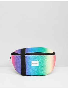 Spiral Rainbow Crystals Fanny Pack by Fanny Pack