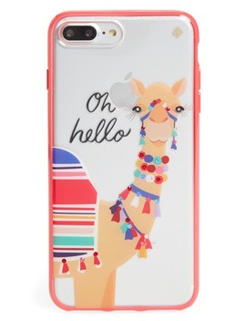 Jeweled Camel Transparent I Phone 7/8 & 7/8 Plus Case by Kate Spade New York