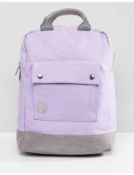 Mi Pac Tote Backpack In Lilac by Mi Pac
