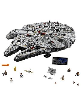 Lego Star Wars Ultimate Millennium Falcon 75192 Building Kit (7541 Pieces) by Lego