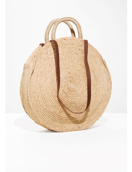 Straw Circle Bag by & Other Stories