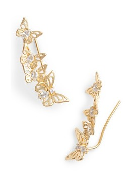 Social Butterfly Ear Crawlers by Kate Spade New York