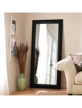 Better Homes And Gardens Black Leaner Full Length Floor Mirror   27 X 70 In. by Walmart