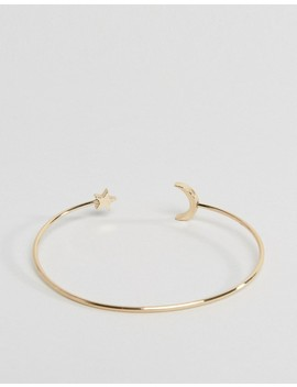 Asos Design Moon And Star Arm Cuff by Asos Collection