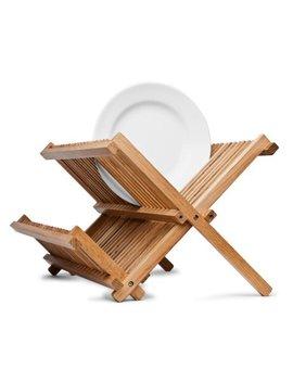 44003 Bamboo Folding Dish Rack by Axis International
