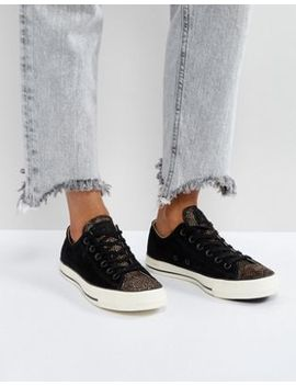 Converse Chuck Taylor All Star Trainers In Black by Converse